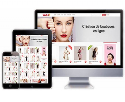 Boutique en ligne sur mesure